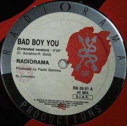 画像1: Radiorama / Bad Boy You 【中古レコード】 2871