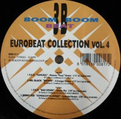 画像1: V.A. / EUROBEAT COLLECTION VOL.4 (BBB017) F.C.F. / SAMURAI / BAD DESIRE * JENNY KEE / SOMEBODY'S LOVING (VOL.4) 【中古レコード】 2889