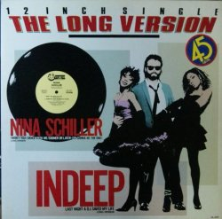 画像1: INDEEP / LAST NIGHT A D.J. SAVED MY LIFE / NINA SCHILLER 【中古レコード】1654一枚