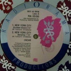 画像1: Oscar / New York City (RA 03/90) 【中古レコード】2203