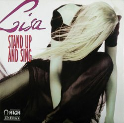 画像1: Lisa / Stand Up And Sing (HE 121) 【中古レコード】2716B
