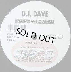 画像1: DJ Dave / Gangsta's Paradise 【中古レコード】1238