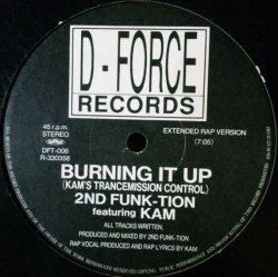 画像1: 2ND FUNK-TION / BURNING IT UP 【中古レコード】1413一枚