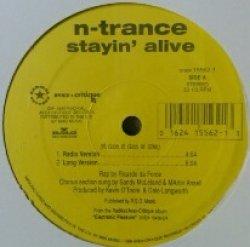 画像1: N-Trance / Stayin' Alive 【中古レコード】1101